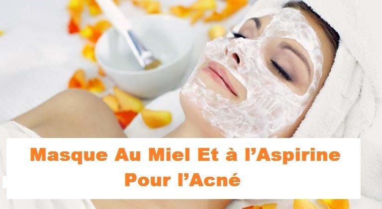 Photo de Masque anti-acné au miel et à l'aspirine