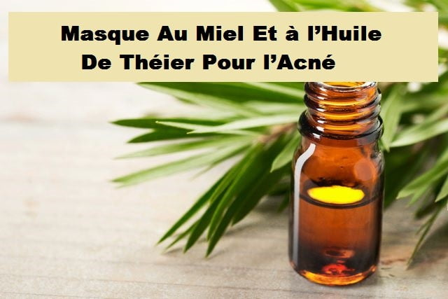 Photo de Huile d'arbre à thé acné : Huile anti-acné miracle !