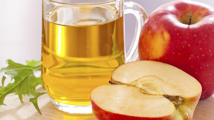 acné du nourrissontraitement naturel: vinaigre de cidre de pomme