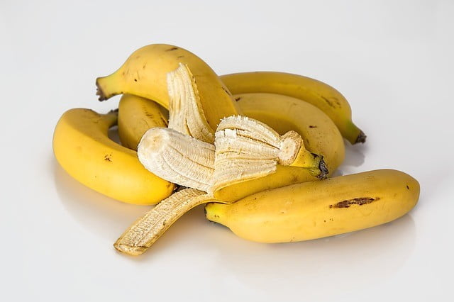Aliment riche en fibre : La banane