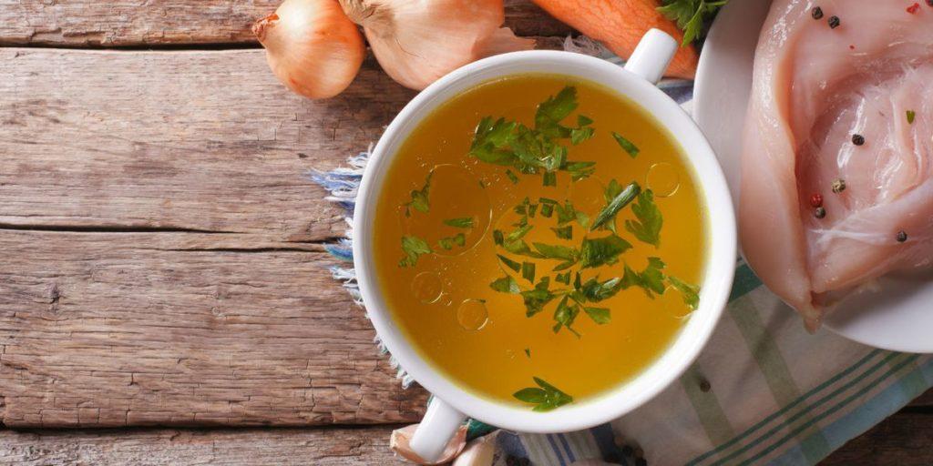 Aliments brûle-graisse :Le bouillon d'os