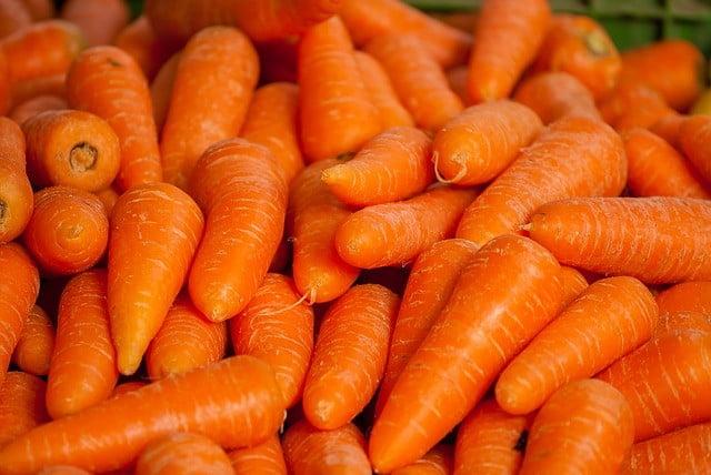Aliments riches en fibres : Les Carottes
