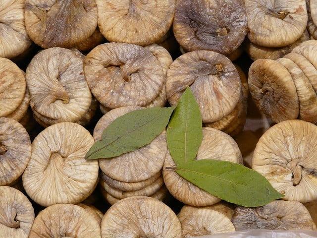 Aliment riche en fibre : Figues sèches