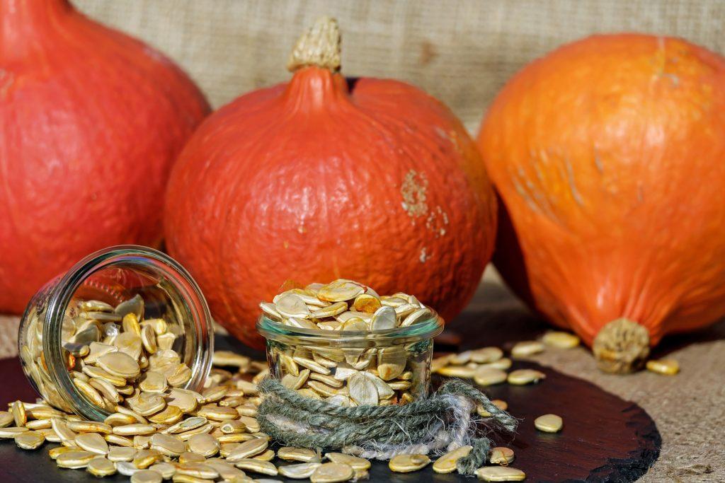 Aliments brûle-graisse :Les graines de citrouille