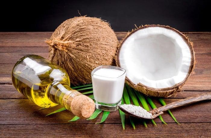 huile de coco visage