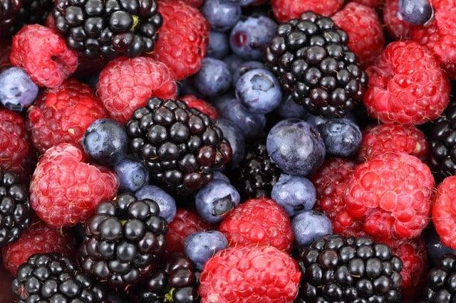 Aliment riche en fibre : Les mûres