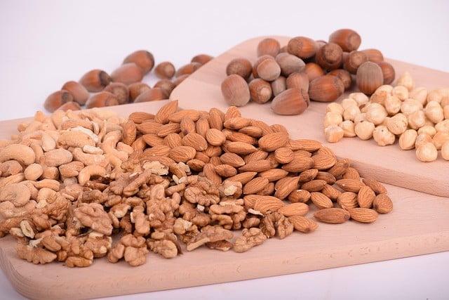 Aliments riches en fibres : Les noix