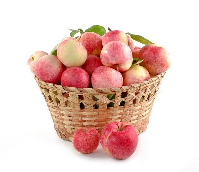 Aliments riches en fibres : Les pommes