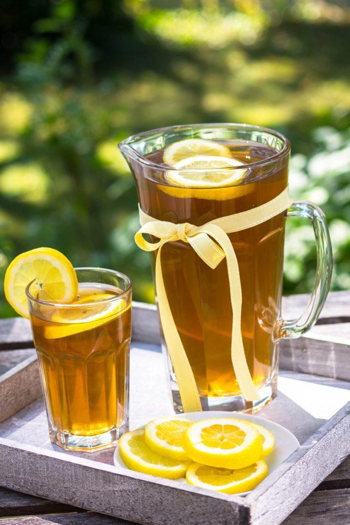 Recette thé glacé