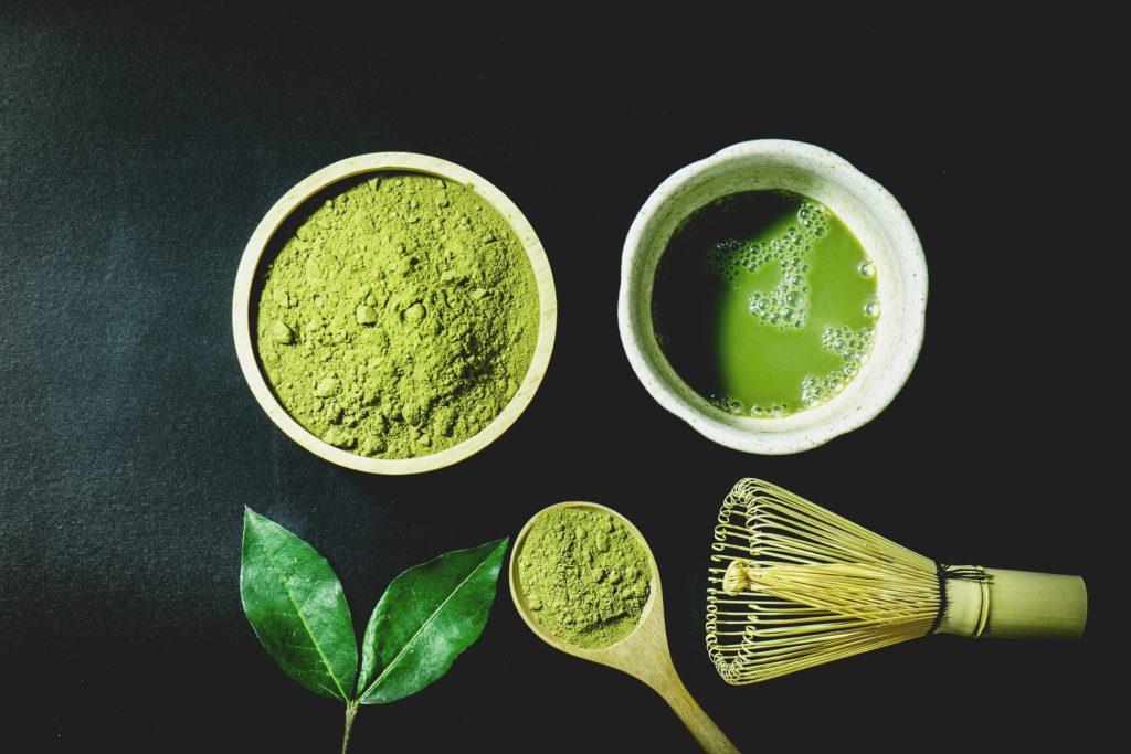 Acné rosacée traitement naturel (couperose traitement naturel) : # 6 Thé vert Matcha (interne et externe)