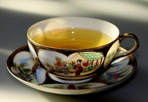 Aliments brûle-graisse thé vert