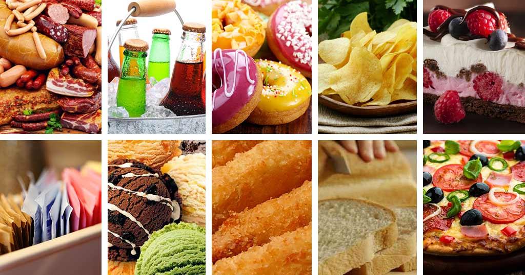 Les aliments qui favorisent le cancer