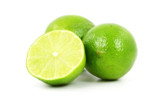 Bouton menton jus de citron