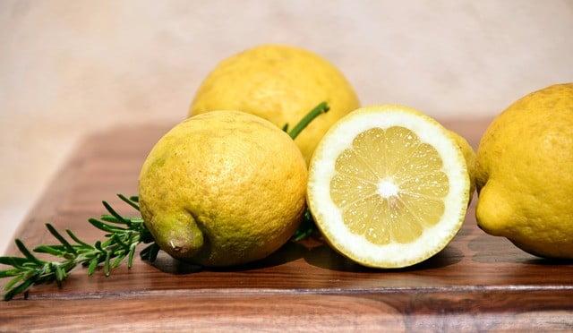 citron pour blanchir la peau