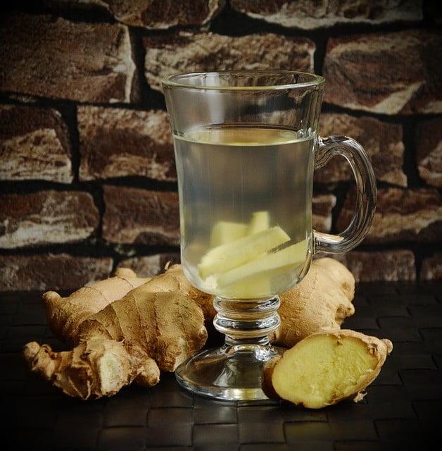 boisson pour maigrir au gingembre