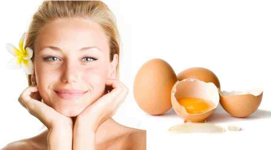 Remède naturel pour éclaircir la peau rapidement et naturellement : Masque d'œuf