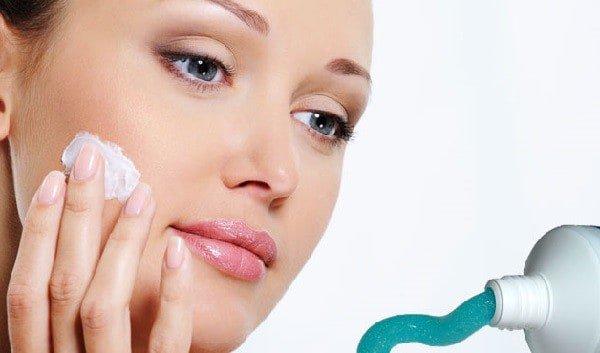 dentifrice acné