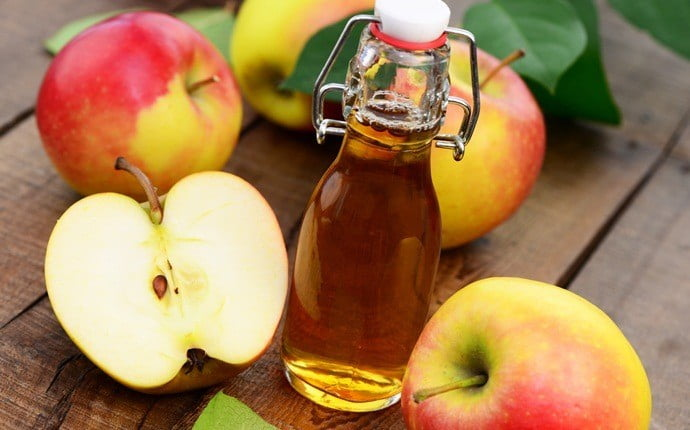 Verrue plane traitement naturel : Le vinaigre de cidre