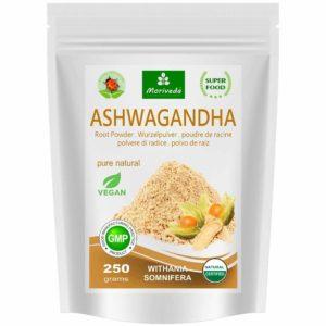 Ashwagandha Bio Poudre | Avantages - Biologique - Gratuit