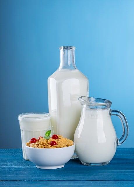 lait et acné