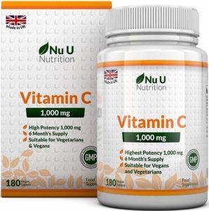 Remèdes contre la grippe: Vitamine C