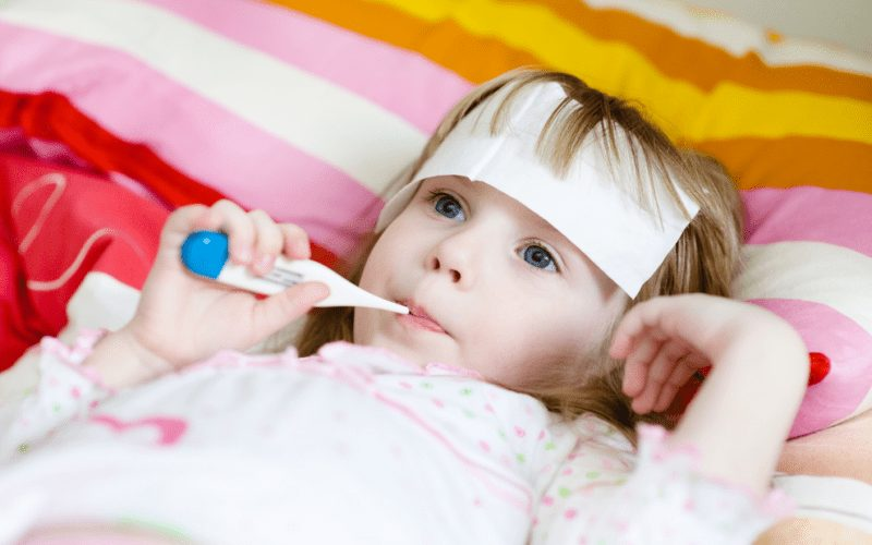 La fièvre chez les nourrissons et les enfants