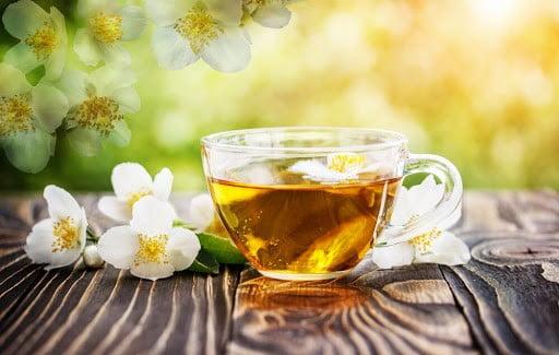 thé au jasmin bio