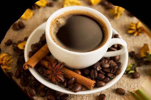 alimentation et acné : café