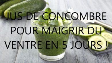 Photo of Jus de concombre pour maigrir du ventre en 5 jours !