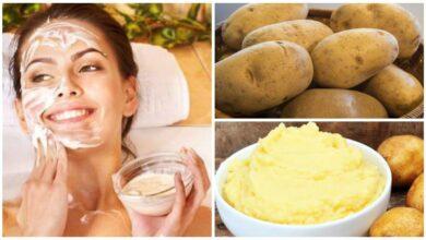 Photo de 2 Façons efficaces d'utiliser la pomme de terre pour blanchir le visage !