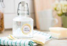 Photo de 5 Recettes simples d'utiliser le vinaigre blanc pour blanchir la peau !