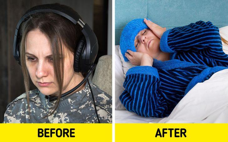 Porter un casque audio trop longtemps