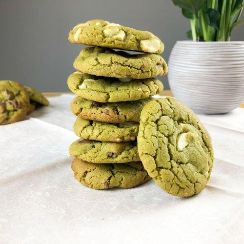 Cookies au Matcha